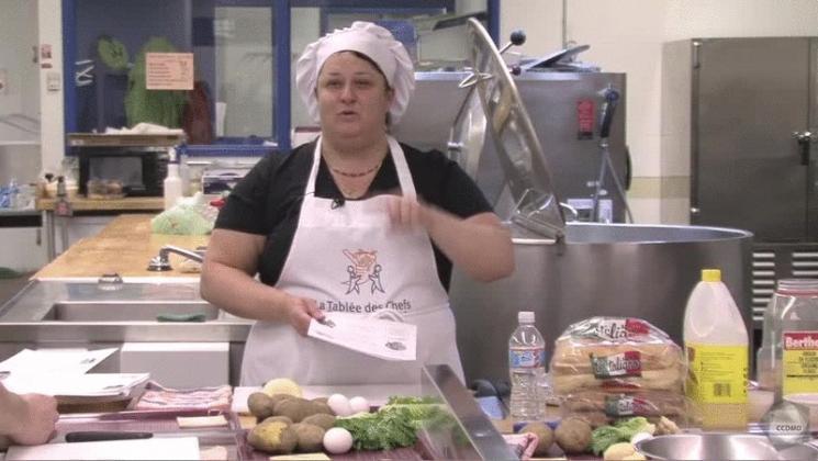 Vidéo : Activité culinaire - Explication du menu
